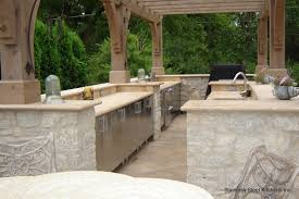 Stainless Steel Outdoor Kitchen Stainless Steel Kitchens Stainless Steel Kitchen Cabinets