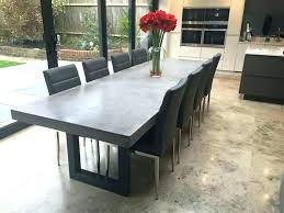 concrete dining table. Concrete Top Dining Table Square Unique Room Decoration Sophisticated Best