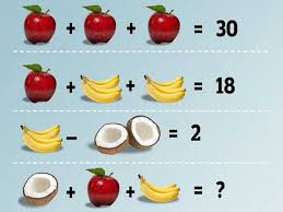 fruit math problem is driving everyone crazy