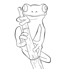 Small Picture 42 best Frog Tattoo Coloring Pages images on Pinterest Frog
