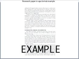 how to format research paper apa format for essays format paper example sample research paper