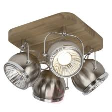 lighting spotlights ceiling. Square LED Ceiling Spotlight Tribe, 4 Spotlights-1509188-01 Lighting Spotlights A