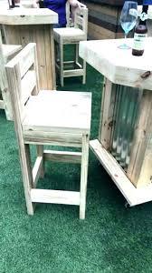 outdoor drum stool