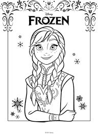 Anna Van De Film Frozen Kleurplaat Gratis Kleurplaten Printen