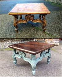 Best 25+ Coffee table makeover ideas on Pinterest | Farmhouse style coffee  table, Coffee table refinish and Refinished coffee tables