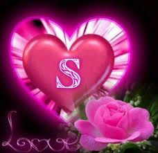 s name in heart wallpapers free s name