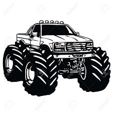 Race Car Monster Truck Clipart Collection