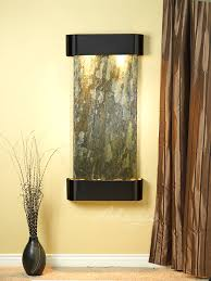 indoor wall water features cascade springs slate wall water feature