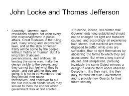 john locke and the declaration of independence john locke british 5 john locke