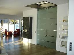 frosted glass interior door photo 24