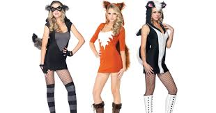 Xxx costume wearing women