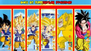 Goku GT Supersaiyajin Evolutions ...