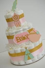 Dream Catcher Baby Shower Cake Boho Diaper Cake Dreamcatcher Diaper CakeNew Baby GiftBaby 68