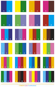 Common color combinations
