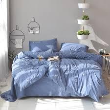 100 cotton bed sheet pillowcase duvet cover set white blue girls cute bedding sets queen king size bed set bedeclothes damask bedding queen size comforter