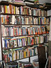 home office bookshelf. Overflowing Home Office Bookshelf S