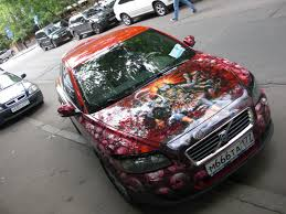 Car Paint Jobs | They love to show off their fancy cars, AND custom paint