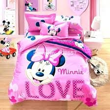 minnie mouse bedding twin full size mouse comforter set new pink beautiful mouse printed bedding set cotton twin size full size mouse comforter set