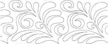feathers   Product tags   MeadowLyon Designs & Americana Flourish 10″ Edge-to-Edge Pantograph Adamdwight.com