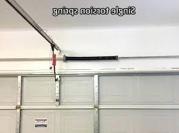 garage tension springs torsion springs for