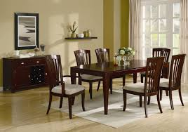 cherry wood dining table. El Rey Cherry Wood Dining Table Set L