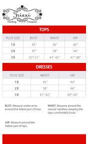 Mudd Jeans Size Chart Lovely Trixxi Plus Size Chart Via