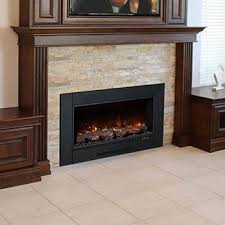 modern flames zcr electric fireplace insert with 38 x 24 inch trim zcr 3824 bbqguys
