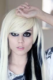 blonde emo scene