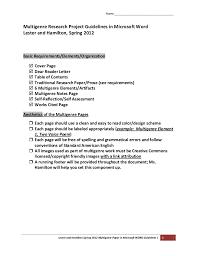 paper part research structure pdf