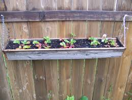 ... Planters, Hanging Planter Box Metal Window Boxes Garden And Patio Diy  Haning Reclaimed Wood Planter ...