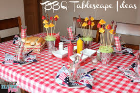 BBQ Tablescape Ideas -- Must Have Mom
