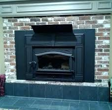 breathtaking fireplace heat shield gas mantle deflector