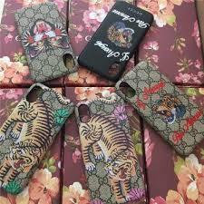 gucci iphone x case. gucci fashion print iphone phone cover case for x gucci iphone z