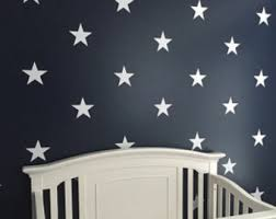 6 white vinyl star wall decals star wall decals kids room wall decal nursery wall decal teachers wall decal classroom wall decal on stars vinyl wall art with white star decal etsy