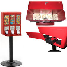 Candy Gumball Vending Machines Fascinating Triple Vend Candy Gumball Vending Machine