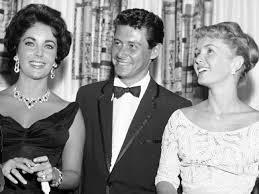 eddie fisher and debbie reynolds. Fine Eddie The Love Triangle That Rocked Hollywood Elizabeth Taylor Eddie Fisher And Debbie  Reynolds In Throughout And L