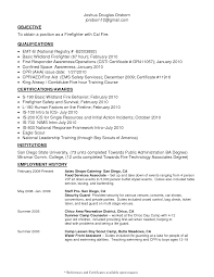 Emergency Medical Technician Resume Template Emt Resume Objective Resume Ideas Namanasa 18