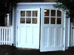 small garage doorHandMade Custom Wood Garage Doors and REAL Carriage House Doors