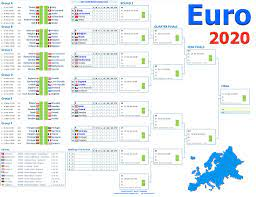 Smartcoder 247 - Euro 2020 Football Wallcharts and Excel Templates: Euro  2020 Wall Charts and Excel Spreadsheets