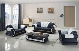 sofa set living room furniture with genuine leather 3 pcs modern sofas for1 for