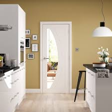 internal white primed rno 1l door with clear glass gwpsal