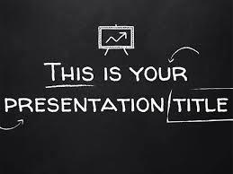 Chalkboard Powerpoint Background Interesting Blackboard Background Powerpoint Free Template Or Google