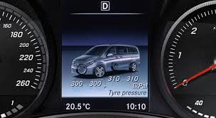 The Tyre Pressure Monitoring System Mercedes Benz V 250 D