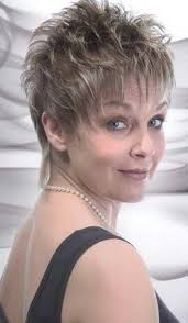 charming layered pixie haircut for over 50 women