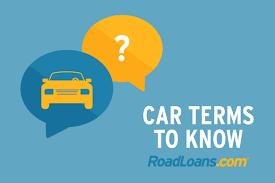 road loan com useful car terms to know roadloans