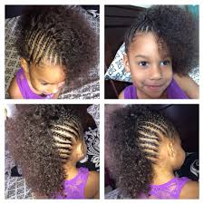 Toddler Curly Hairstyles Cornrows Mixed Girl Toddler Halfro Hairstyles Lil Beauties