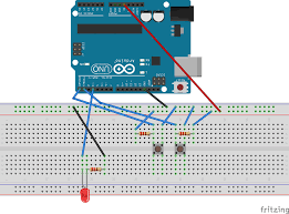 arduino pwm tutorial led dimmer arduino pwm circuit diagram