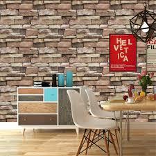 HaokHome 620632 Textured Stone Brick ...