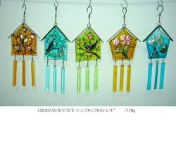 stained glass wind chimes diy