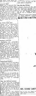 Ida Wallace Summers Prairie Grove - Newspapers.com